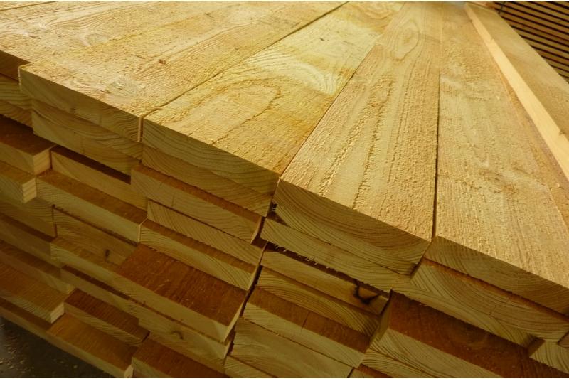 Bardage m l ze de sib rie volige 18x138 mm en 3m et 4 m for Bois de meleze prix