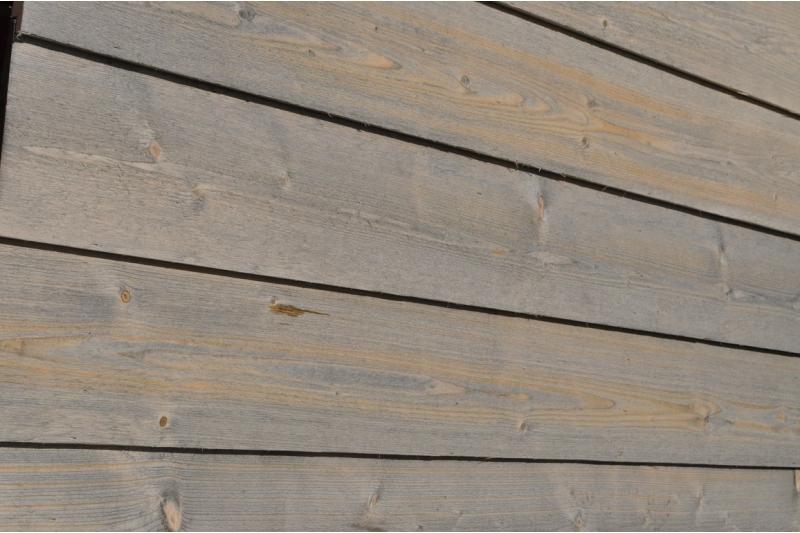 Bardage bois sapin blanc scandinave clin biaisé canadien  ~ Clin Bardage Bois