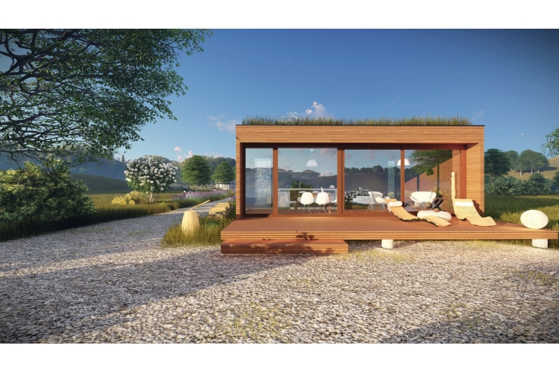 micro mini maison 20m rest house 100 bois sans permis