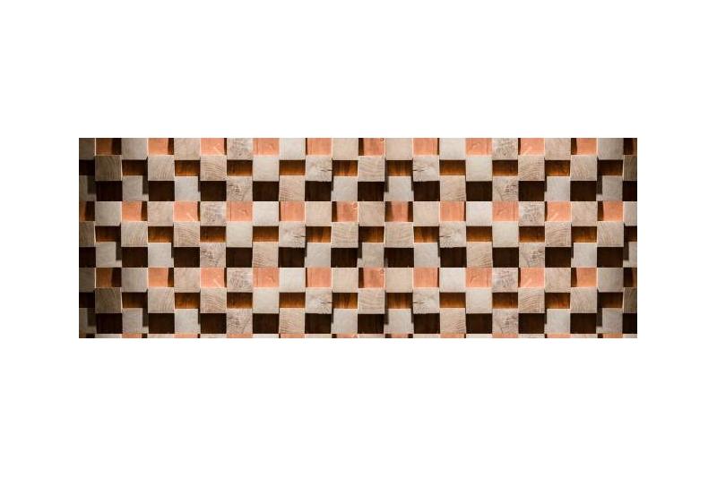 Merisier Bois Brut : Lambris relevio bois massif 3D panelling parement bois ch?ne brut de