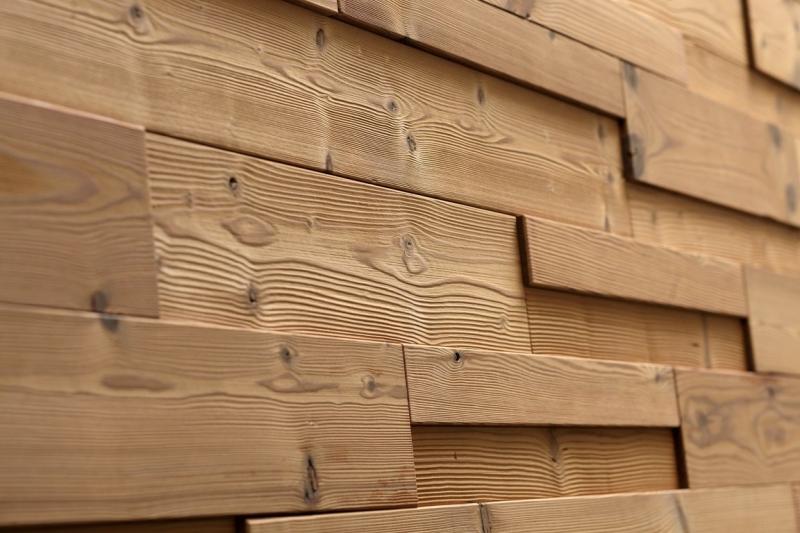 Lambris relevio bois 3d panelling parement bois acacia - Lambris bois large ...