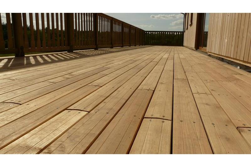 Lame Terrasse bois Acacia Robinier 22*100mm 1,2m à 2,40m durable R4F ...