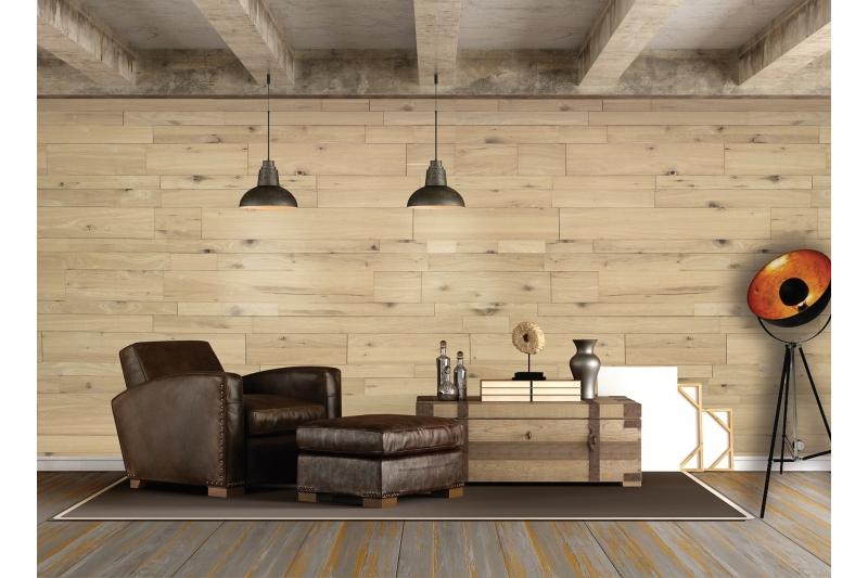 Lambris relief bois massif 3D panelling parement Finium ... - Lambris Chene