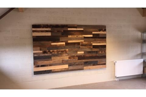 Lambris relevio bois 3d panelling parement bois pic a - Lambris bois large ...