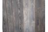 Bardage lanbris brûlé brossé vieilli vintage Battlewood