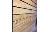 Bardage tasseau Mélèze de Sibérie rectangle et trapèze parallelo 21x50, 21x70 et 21x90
