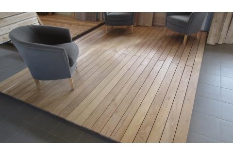 lame terrasse bois acacia robinier 22*120mm 1,2m-1,6m-2,0m-2,40m