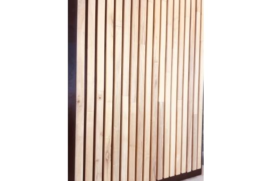 Battlewood Bardage faux acacia Robinier tasseau carré 40x40mm