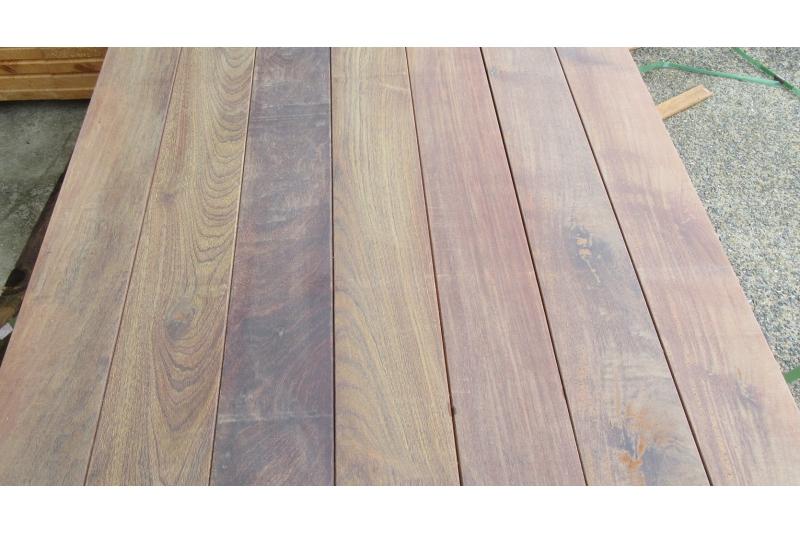 terrasse bois exotique ip en 20mmx140mm longueurs mixtes. Black Bedroom Furniture Sets. Home Design Ideas