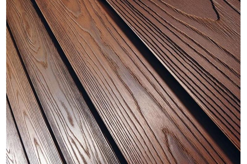 Decking And Cladding Thermo Wood Ash Birch Karagach Pine