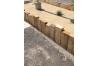Traverse paysagère en Chêne de 120x200x1600mm